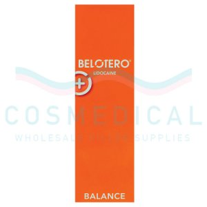 BELOTERO® BALANCE With Lidocaine 22.5mg/ml, 3mg/ml 1-1ml prefilled syringe