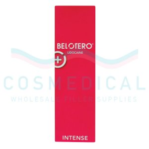 BELOTERO® INTENSE w/ Lidocaine 25.5mg/ml, 3mg/ml 1-1ml prefilled syringe
