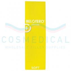 BELOTERO® SOFT w/ Lidocaine 20mg/ml, 3mg/ml 1-1ml prefilled syringe