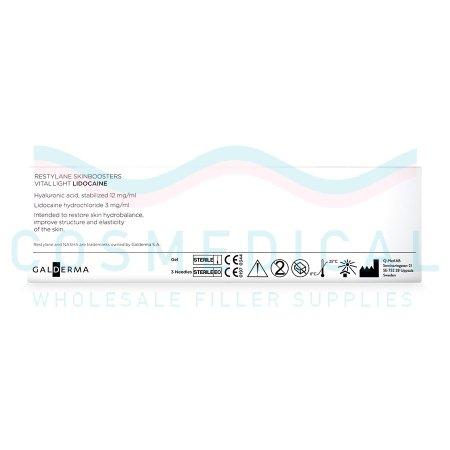 RESTYLANE® SKINBOOSTERS™ VITAL LIGHT w/ Lidocaine