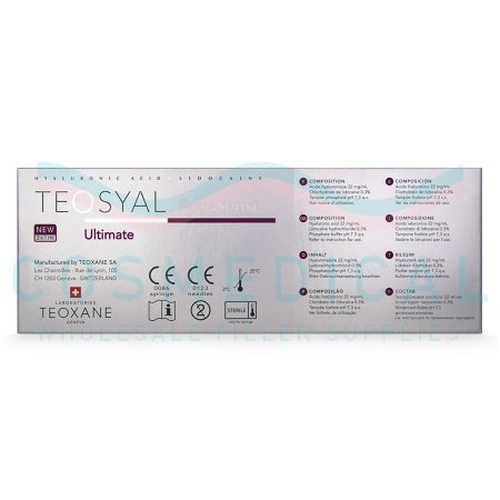 TEOSYAL® PURESENSE ULTIMATE 2x1mL.