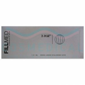 FILLMED® X-HA³ 23mg/ml 1-1ml prefilled syringes