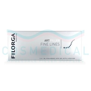 FILORGA ART FILLER FINE LINES with Lidocaine 20mg/ml, 3mg/ml 2-1ml prefilled syringes