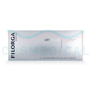 FILORGA ART FILLER LIPS with Lidocaine 25mg/ml, 3mg/ml 2-1ml prefilled syringes