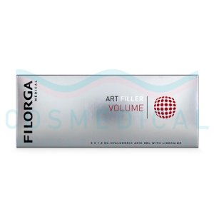 FILORGA ART FILLER VOLUME with Lidocaine 25mg/ml, 3mg/ml 2-1.2ml prefilled syringes