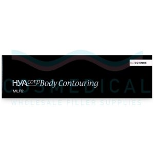 HYACORP BODY CONTOURING MLF2 20mg/ml, 2mg/ml 1-10ml prefilled syringe