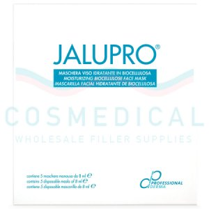 JALUPRO® MOISTURIZING BIOCELLULOSE FACE MASKS (5x8ml)  5-8ml masks