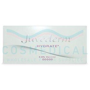 JUVEDERM® HYDRATE 1ml 13.5mg/ml, 9mg/ml 1-1ml prefilled syringe