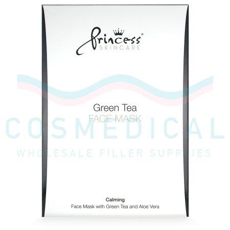 PRINCESS® SKINCARE GREEN TEA MASK