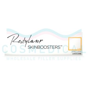 RESTYLANE® SKINBOOSTERS™ VITAL LIGHT w/ Lidocaine 12mg/ml, 3mg/ml 1-1ml prefilled syringe