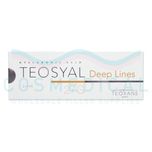 TEOSYAL® DEEP LINES 25mg/ml 2-1ml prefilled syringes
