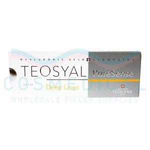 TEOSYAL® PURESENSE DEEP LINES 25mg/ml, 3mg/ml 2-1ml prefilled syringes