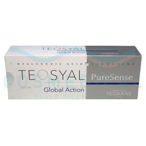TEOSYAL® PURESENSE GLOBAL ACTION 25mg/ml, 3mg/ml 2-1ml prefilled syringes
