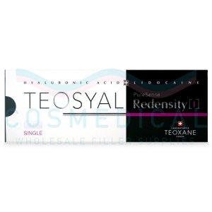 TEOSYAL® PURESENSE REDENSITY I 1x3ml 15mg/ml, 3mg/ml 1-3ml syringe