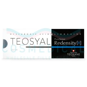 TEOSYAL® PURESENSE REDENSITY II 2x1ml 15mg/ml, 3mg/ml 2-1ml prefilled syringes