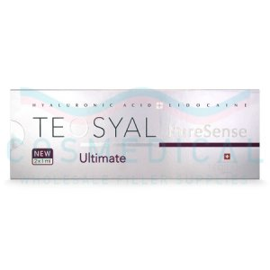 TEOSYAL® PURESENSE ULTIMATE 2x1mL. 22mg/ml, 3mg/ml 2-1ml prefilled syringes