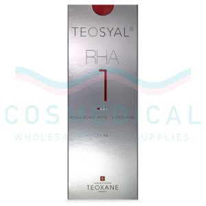 TEOSYAL® RHA1 15mg/ml, 3mg/ml 2-1ml prefilled syringes