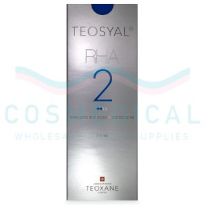 TEOSYAL® RHA2 23mg/ml, 3mg/ml 2-1ml prefilled syringes