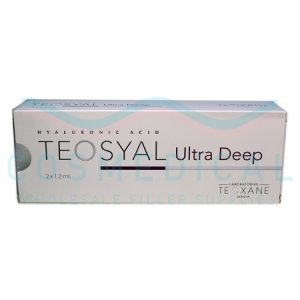 TEOSYAL® ULTRA DEEP 2x1.2mL 25mg/ml 2-1.2ml prefilled syringes